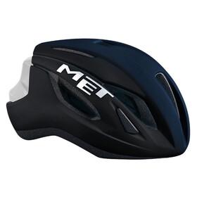 MET Strale Fietshelm blauw/zwart
